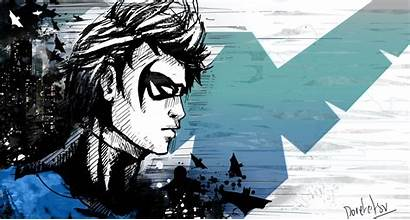 Nightwing Wallpapers Dc Comics Backgrounds Cave Awesome
