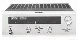 Sony St-5000f - Manual - Fm Stereo Tuner
