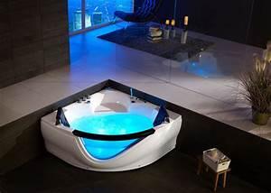 Baignoire D Angle 130x130 : baignoire baln o 2 places baignoire balneo d 39 angle ~ Edinachiropracticcenter.com Idées de Décoration