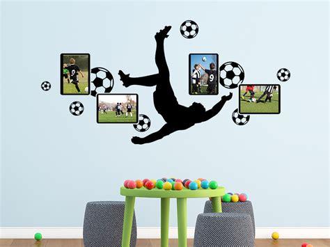 Wandtattoo Kinderzimmer Fussball by Wandtattoo Fotorahmen Fu 223 Wandtattoo De