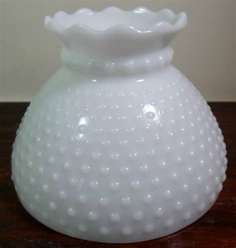 vintage white hobnail milk glass l vintage hobnail white milk glass ruffled edge gwtw
