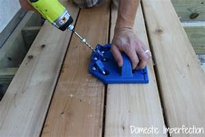 Building the Deck, Part II - Domestic Imperfection