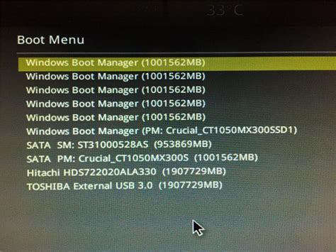 Multiple Entries For Windows Boot Manager In Uefi Bios