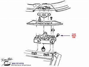 1995 Corvette Roof Panel Mounting Bolt Parts