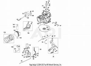 Mtd 6x65ru Engine Parts Diagram For 6x65ru Crankcase
