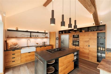 kitchen design rustic modern 16 modern rustic kitchen designs design listicle 4553