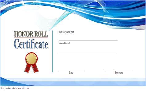 editable honor roll certificate templates   ideas