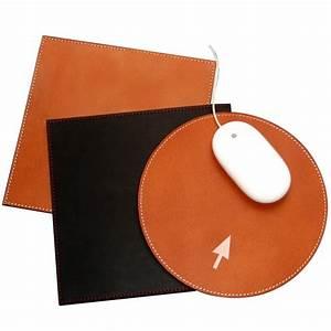 Tapis de souris cuir buffle quart de poil for Tapis de souris personnalisé avec canapé cuir sur mesure