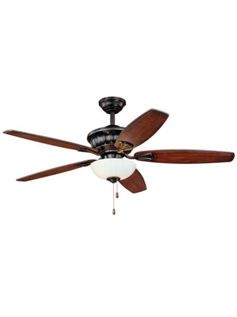 Menards Outdoor Ceiling Fans by Turn Of The Century Tivoli 52 In New Bronze Ceiling Fan