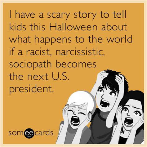 I Have A Scary Story To Tell Kids This Halloween About What Happens To The World If A Racist