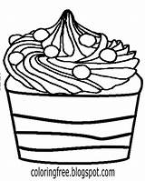 Fudge Coloring Pages Clipart Template Sketch sketch template