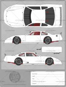 Late Model Race Car Template