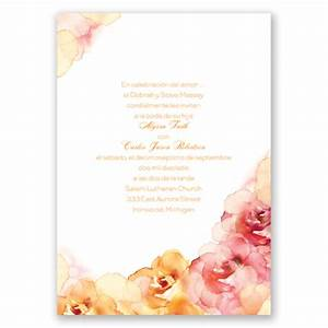 Tips for the perfect wedding invitations latino bride for The wedding invitation online latino
