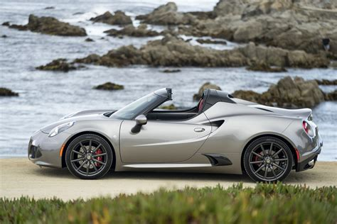 2016 Alfa Romeo 4c Revealed, More Customisation Options