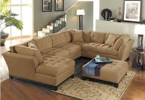 Metropolis 3pc Sectional Sofa by Metropolis Peat 4pc Sectional Living Room