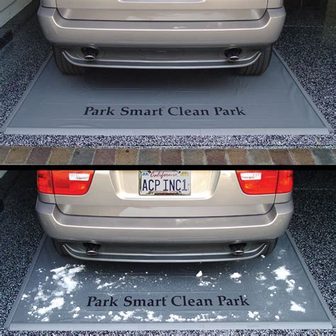 Keep Snow & off Garage Floor with a Park Smart Clean Park