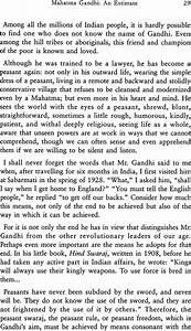 paragraph about gandhiji