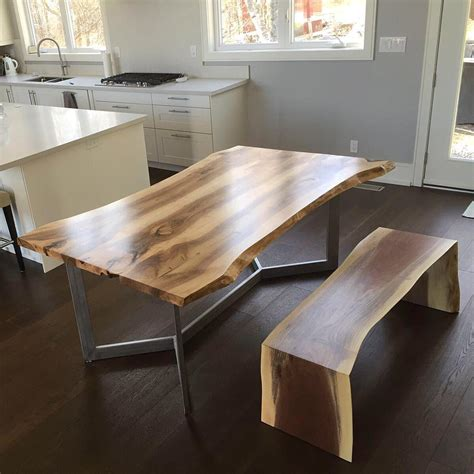 maple kitchen islands live edge dining room tables toronto