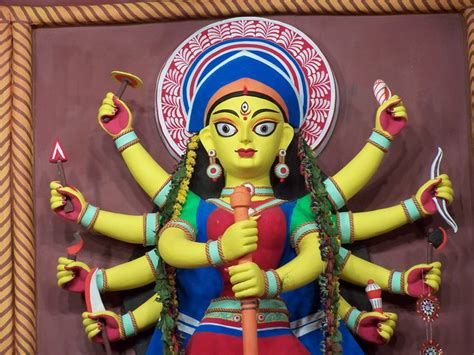 Durga, A Photo From West Bengal, East