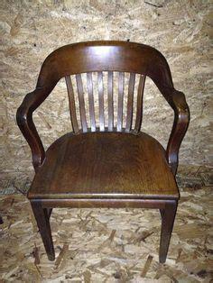 10 antique bankers chair value antique mission