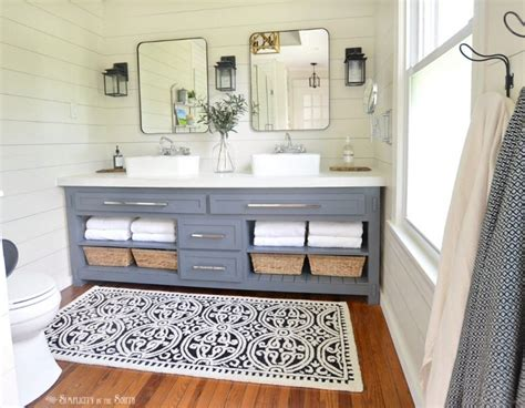 46 paint colors farmhouse bathroom ideas decor
