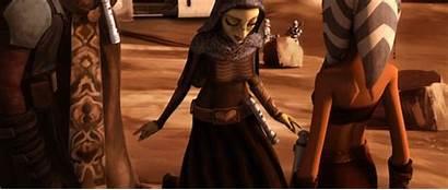 Wars Clone Star Barriss Geonosis Weapons Jedi