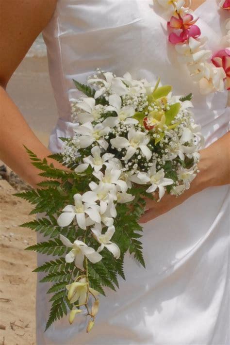 orchid bouquets  bridal dream hawaii