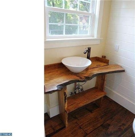 rustic powder room powder room custom reclaimed wood