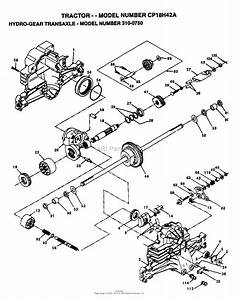Ayp  Electrolux Cp18h42a  1995  Parts Diagram For Hydro