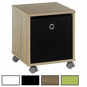 Kommode Mit Rollen : nachttisch kommode schrank rollcontainer m bel mit stoffbox auf rollen ebay ~ Indierocktalk.com Haus und Dekorationen