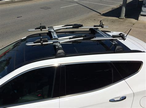 hyundai santa fe roof rack cross baryakima whispbar roof