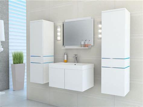 ensemble 224 leds meubles de salle de bain laqu 233 blanc