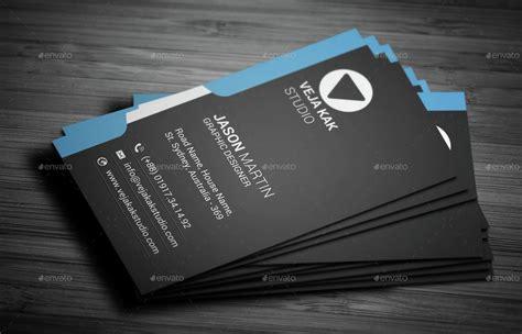 modern vertical business card  vejakakstudio graphicriver