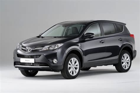 Toyota's All-new Rav Suv Starts At £23k