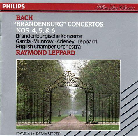 bach english chamber orchestra raymond leppard