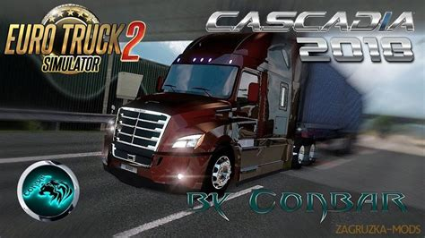 Freightliner Cascadia 2018 V394 By Conbar 126x