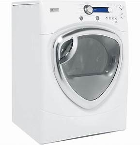 Ge Profile U2122 7 5 Cu  Ft Colossal Capacity Electric Dryer