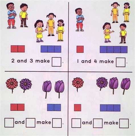 worksheets  kids math kindergarten counting maths word