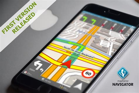 gps on iphone popular gps navigation app mapfactor navigator now