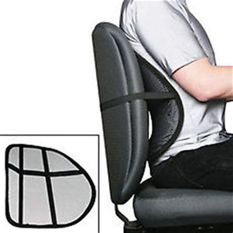 chair lumbar back support posture sit office right
