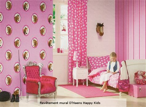 chambre theme decoration chambre fille theme cheval