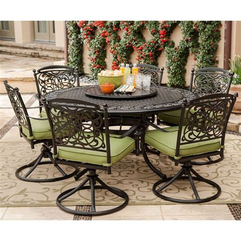 renaissance outdoor patio dining set 9 pc sam s club