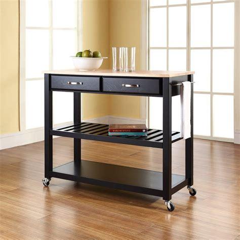 kitchen islands and carts furniture shop crosley furniture black craftsman kitchen cart at 8285