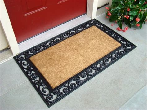 Front Door Mats by Coco Doormat Outdoor Welcome Front Door Mat Entry