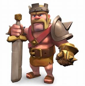 clash of clans characters | Barbarian King - guide to ...