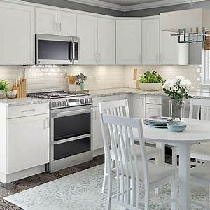 kitchen cabinets color gallery at the home depot With kitchen colors with white cabinets with portable art display walls