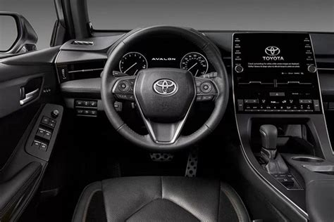 avalon toyota interior touring 2021 redesign cockpit hybrid specs release date cars