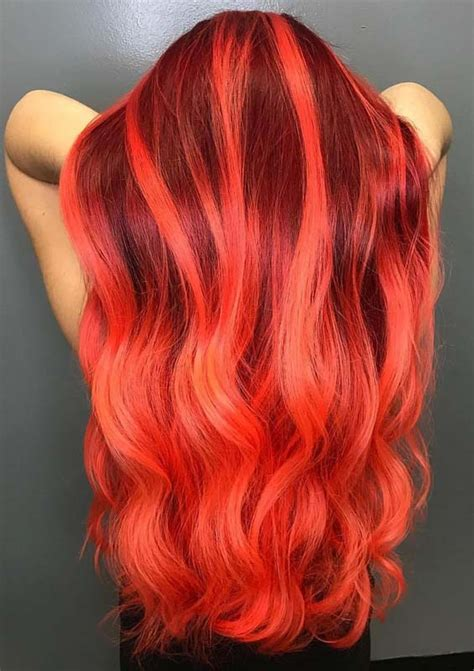 hottest fiery red hair color ideas  women  modeshack