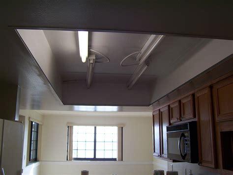 kitchen drop ceiling lighting