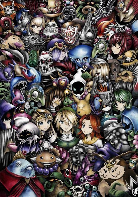 The Legend Of Zelda Fans Images All Zelda Characters 😄 Hd